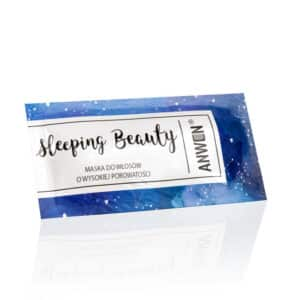 Saszetka Sleeping Beauty nocna maska do wł. wysokoporowatych 10ml Anwen